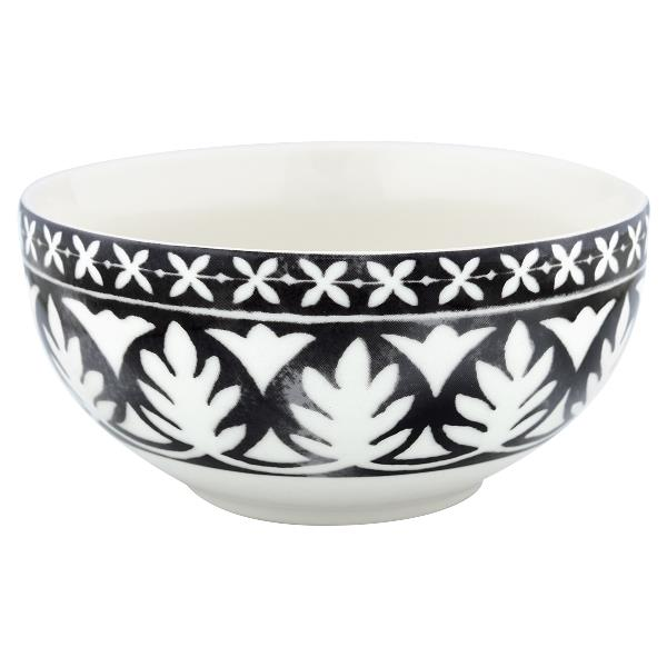 GreenGate Cereal Bowl Sasha black, small