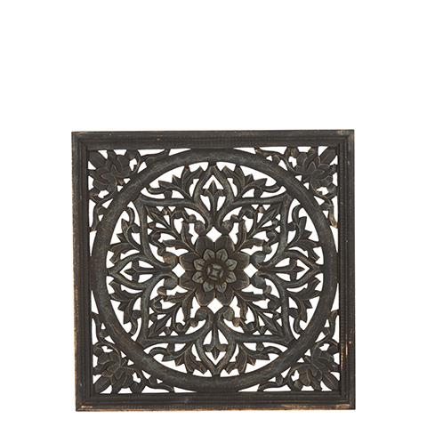 Carve Tempeltavla, svart (45x45 cm 770-452-60)