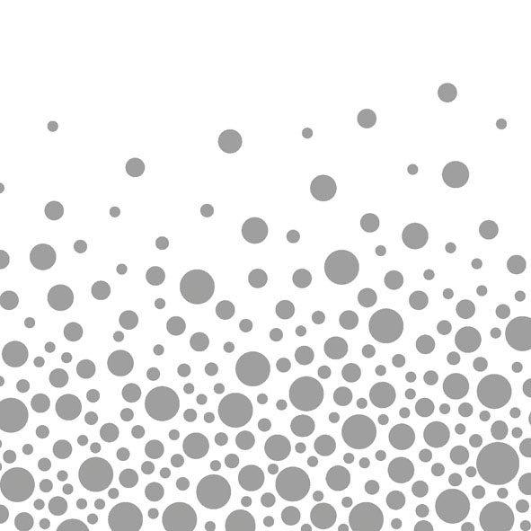 Ambiente Servetter - Sparkling Dots Silver