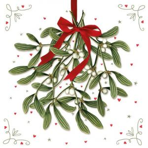 Ambiente Servetter - Mistletoe (Lunch)