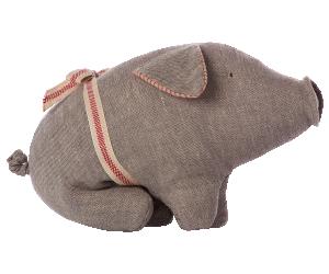 Maileg, Grå gris (small)