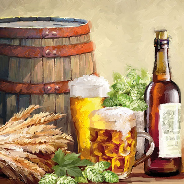 Ambiente Servetter - Beer and hops