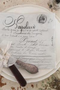 Jeanne dÁrc Living Servetter - Napoleon