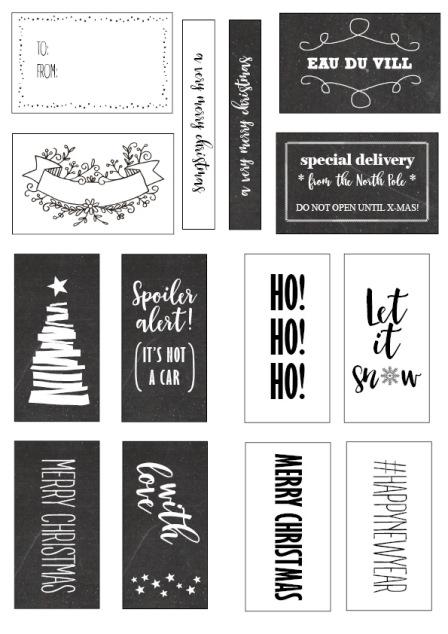 Qlkort - Klistermärken jul