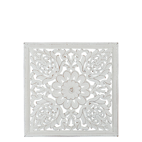 Carve Tempeltavla, Vit (45x45 cm 770-472-10)