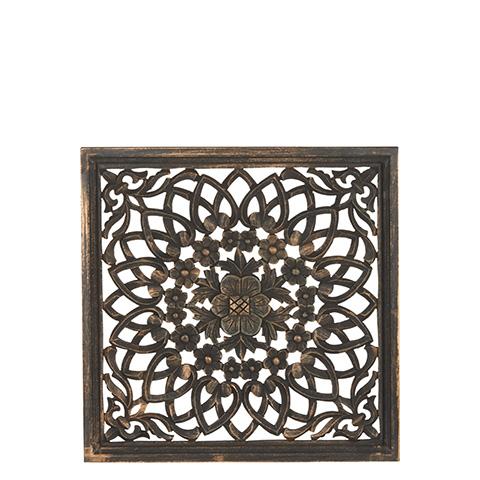 Carve Tempeltavla, svart (45x45 cm 770-462-60)- Beställningsvara