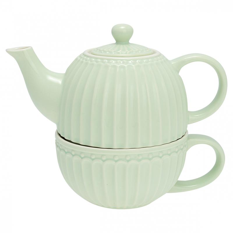 GreenGate Alice pale Green, Te för en