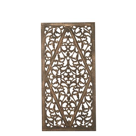 Carve Tempeltavla, Svart/guld (80x160cm 770-504-60) - Beställningsvara