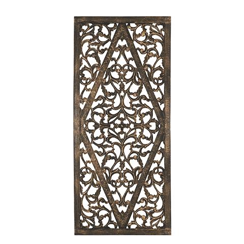 Carve Tempeltavla, Svart/guld (80x180cm 770-505-60) - Beställningsvara