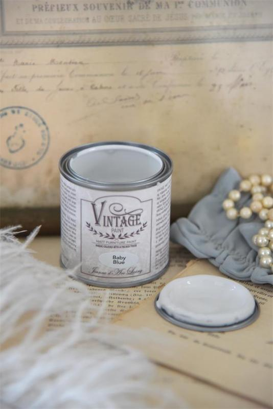 Jeanne d´Arc Living Vintage Paint - Baby Blue