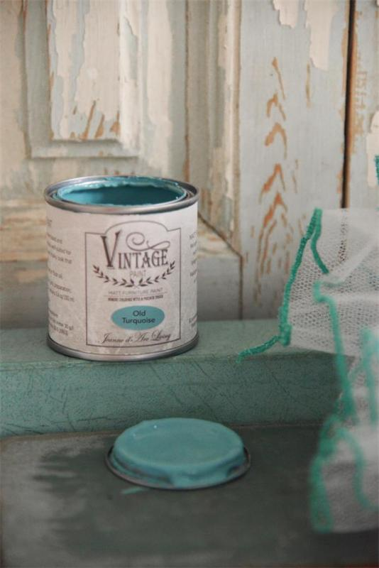 Jeanne d´Arc Living Vintage Paint - Old Turquiose