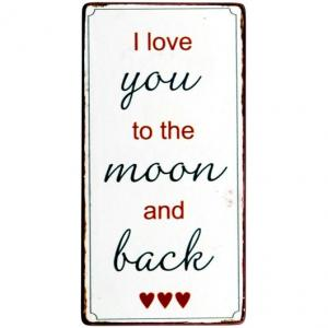 "IB Laursen Magnet ""I love you to the moon and back"""