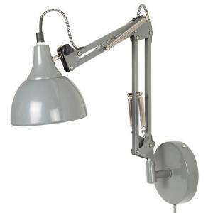 IB Laursen Vägglampa i arkitektmodell, Grå