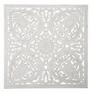 Carve Tempeltavla, vit 115x115cm (770-470-10) - Beställningsvara