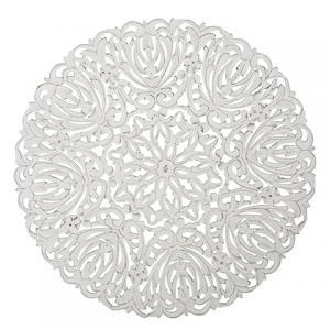 Carve Tempeltavla, rund vit (dia: 115 cm 770-486-10) - Beställningsvara