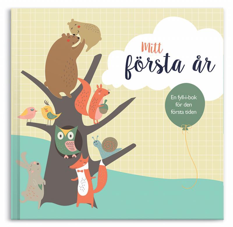 Glimra Förlag: Mitt första år - fyll i bok