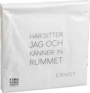 ERNST Servett,Tid/Rum