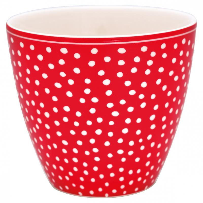 GreenGate Lattemugg Dot Red