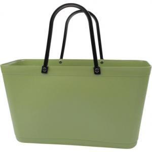 Perstorps väska, Sweden Bag, Stor (Green Plastic) - Nature Green