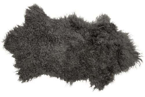 Tibetansk skinnfäll/fårskinn, Grå