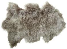 Tibetansk skinnfäll/fårskinn, Ljusgrå melerad