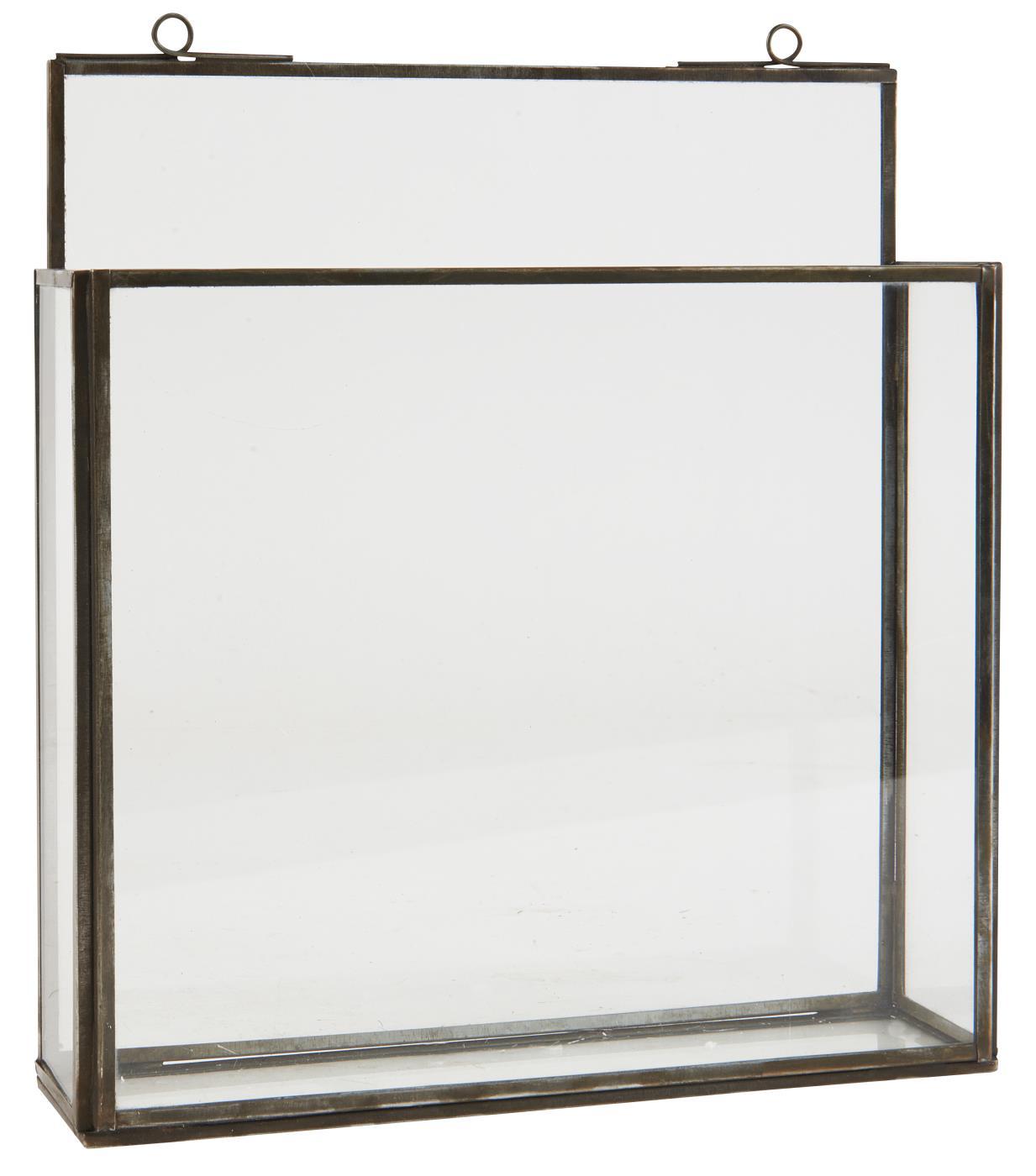 Vägghållare/tidningshållare i glas (Ib Laursen)