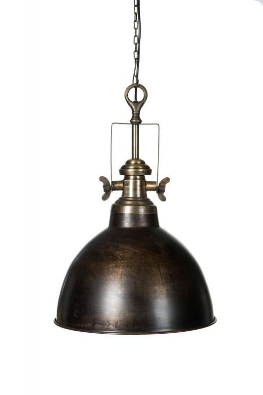 Baron Antik brun lampa