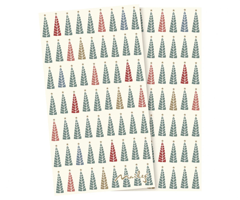 Servett - Maileg (Jul), Christmas trees