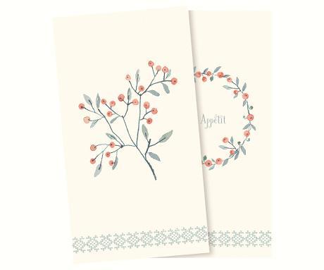 Servett - Maileg Jul, Winter berries
