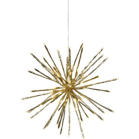 Firework, guld (dia: 40 cm)