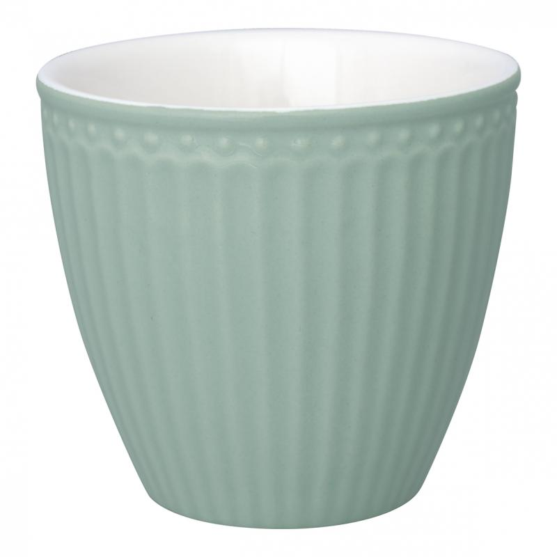 GreenGate Latte Mugg Alice dusty mint