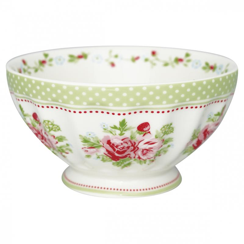 Greengate French Bowl XL, Mary White