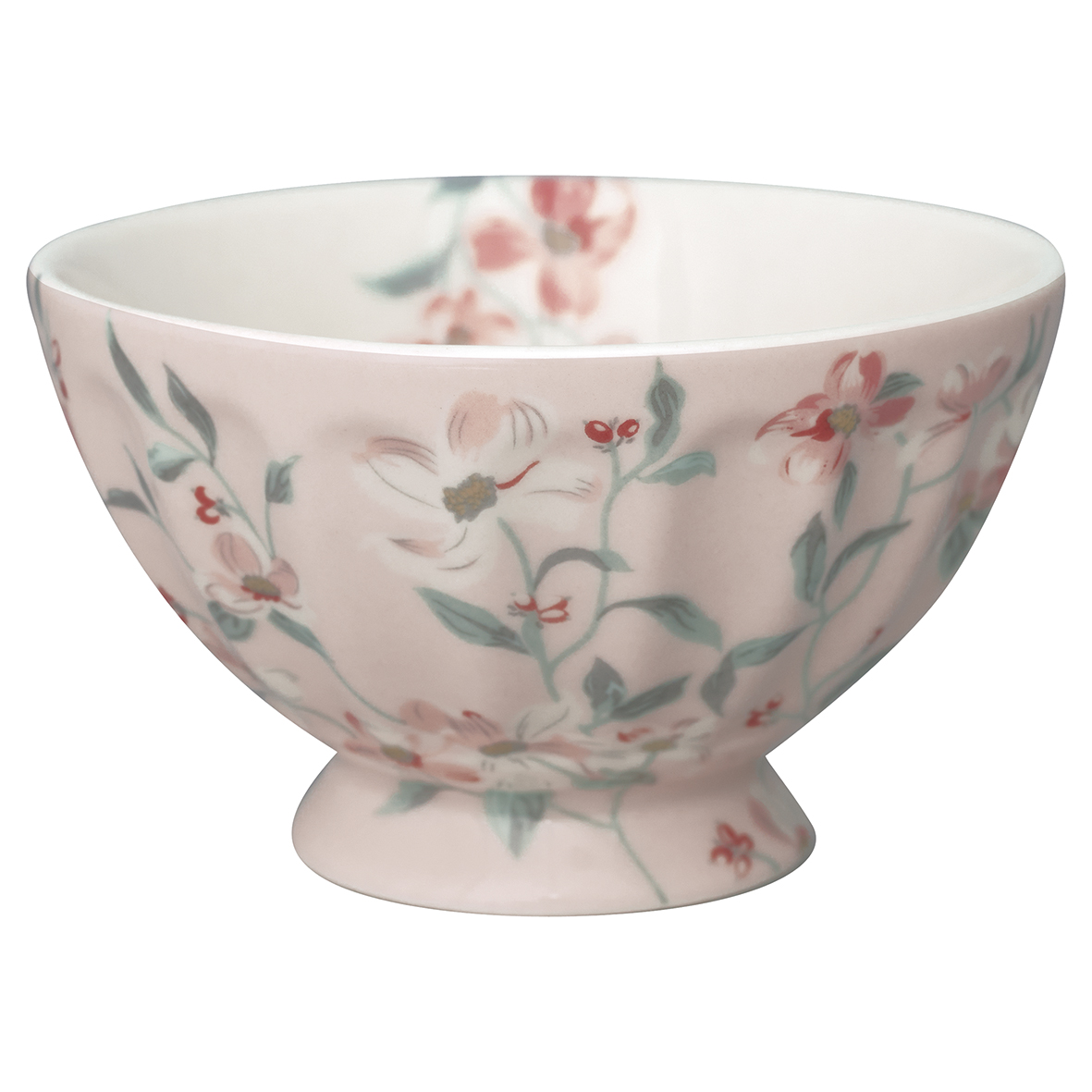 Greengate French Bowl Medium, Jolie Pale Pink