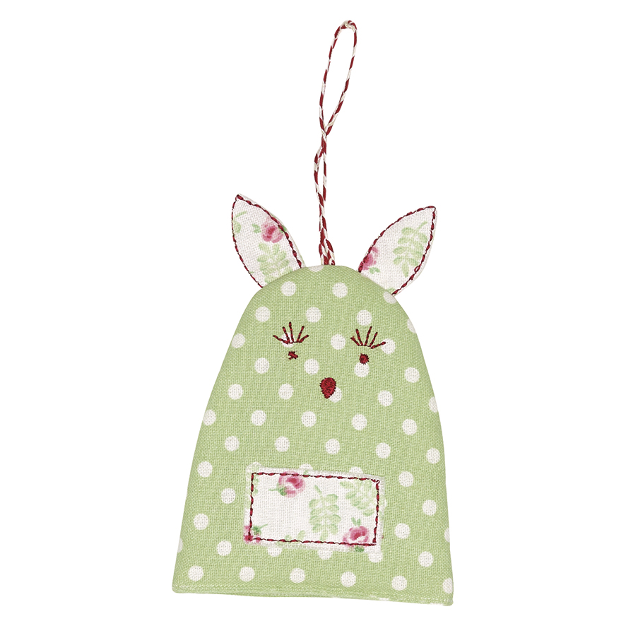 GreenGate Ägg Värmare, Rabbit Spot Pale Green