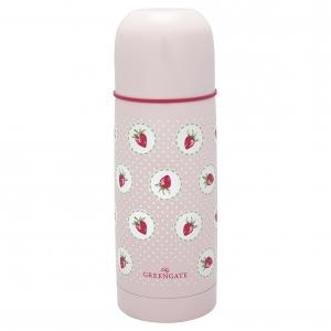 GreenGate Termos, Strawberry Pale Pink 300ml