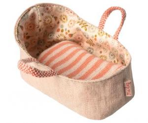 Maileg, Carry cot, My - Rose