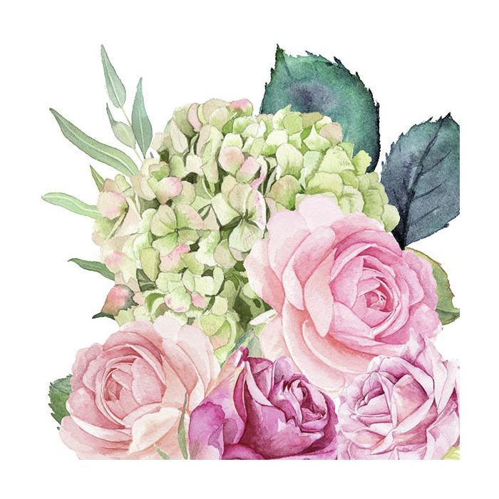 Ambiente Servetter - Rose garden