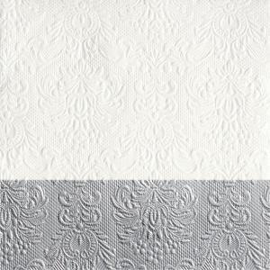 Ambiente Servetter - Elegance Dip silver