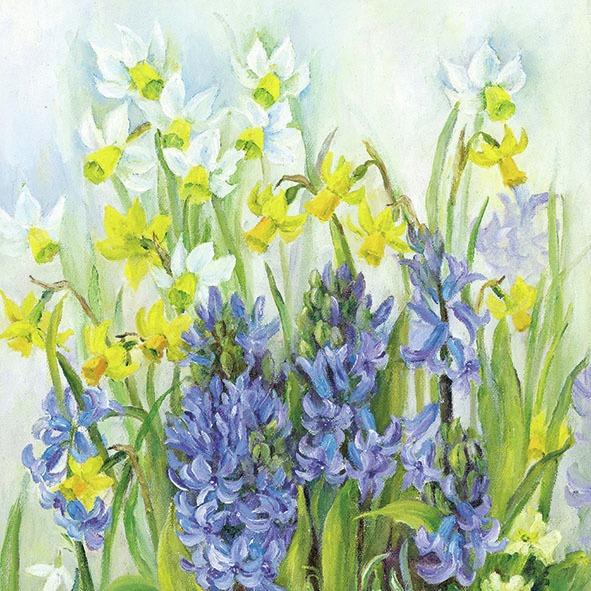 Ambiente Servetter -Spring in bloom