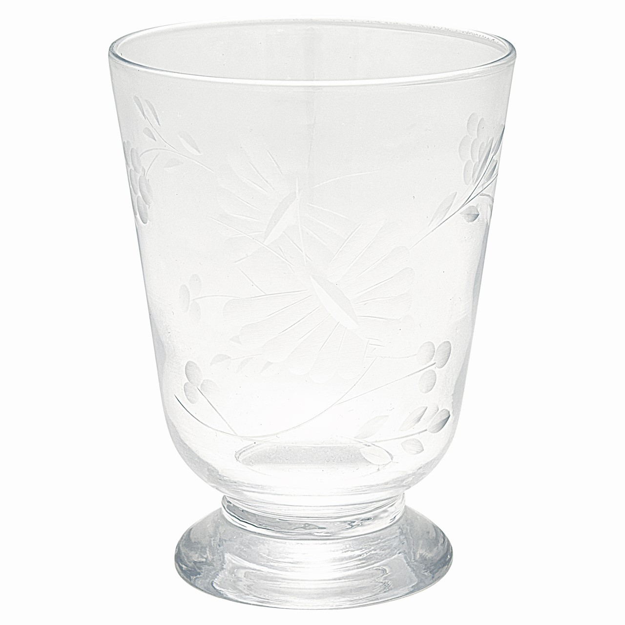 Greengate Dricksglas Butterfly Clear