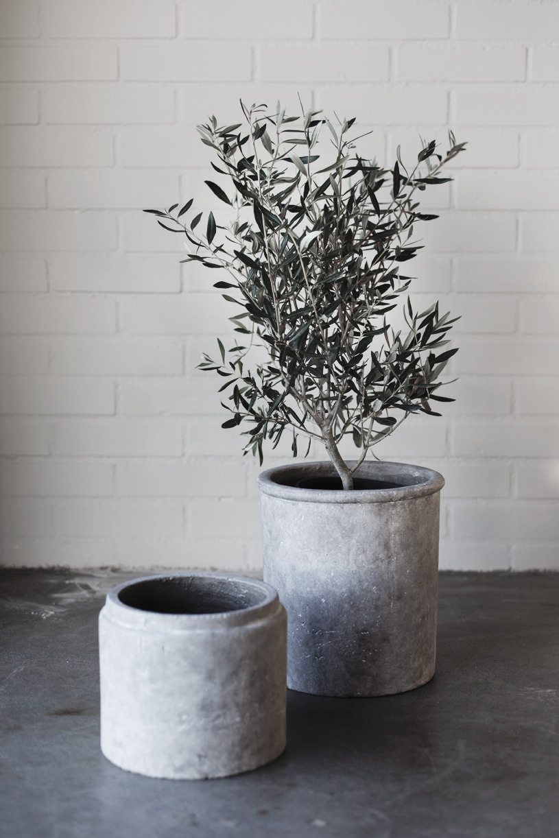 ERNST Kruka (grå terracotta)