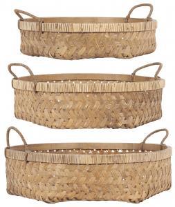 Ib Laursen, Korg i bambu med handtag- Mellan