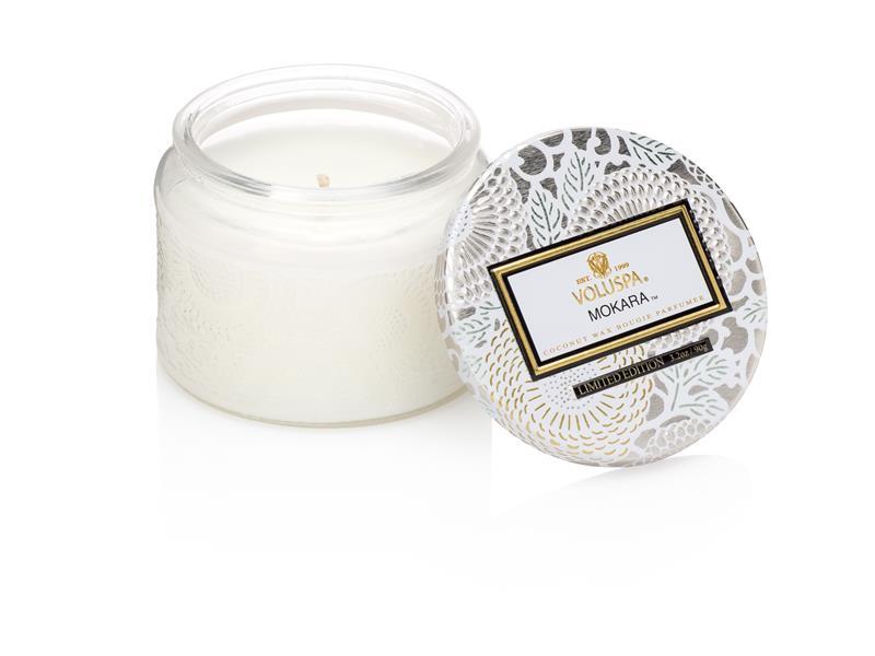 Voluspa Small Glass Jar Candle - Mokara