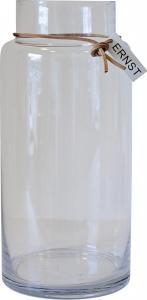 ERNST Glasvas, rak H 33 cm