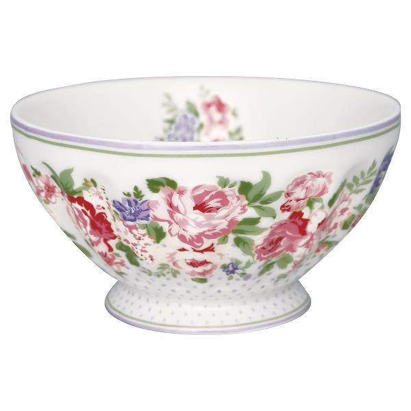 Greengate French Bowl XL, Rose White