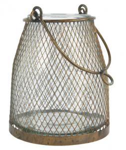 Ib Laursen, Ljuslykta med nät kring glaset