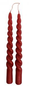 Twistat ljus, Rött (säljes styckvis)