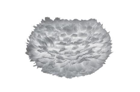 UMAGE Fjäderlampa Eos Medium, Ljusgrå 45cm