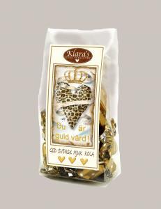 Du är guld värd - Chokladkolor