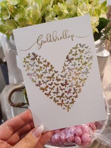 Guldbröllop, kort från Pictura